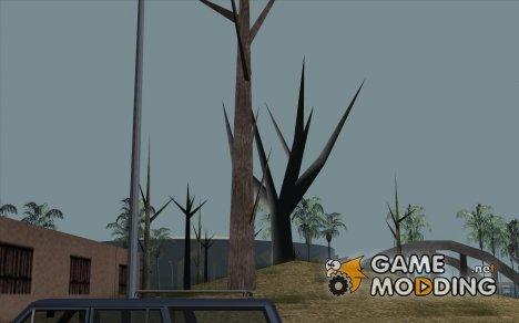 Деревья без листьев for GTA San Andreas