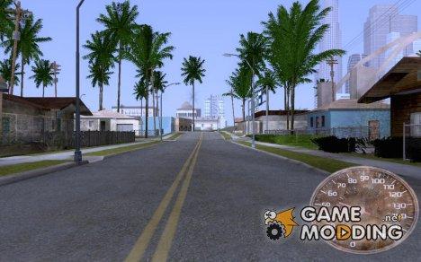 Ржавый спедометр V.2 for GTA San Andreas