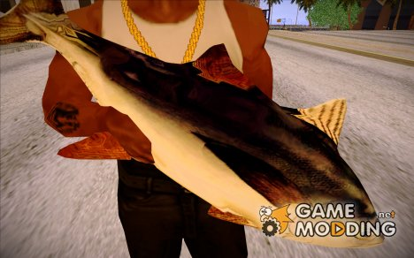 Tuna Fish Weapon for GTA San Andreas