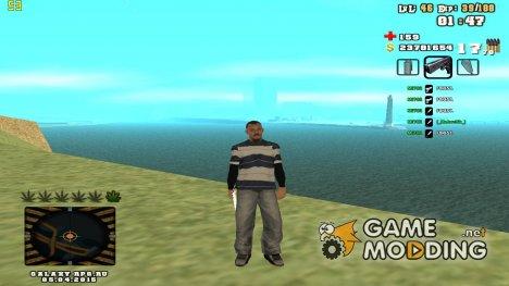 C-HUD by SampHack v.25 for GTA San Andreas