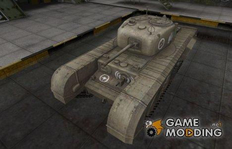 Зоны пробития контурные для Churchill VII для World of Tanks