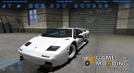 Lamborghini Diablo for Street Legal Racing Redline