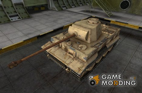 Ремоделинг для танка PzKpfw VI Tiger для World of Tanks