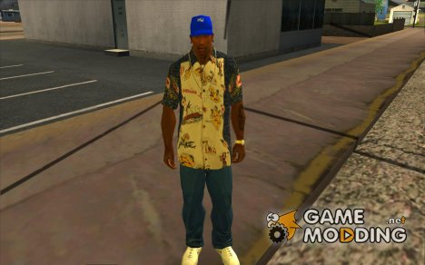 Кепка intel for GTA San Andreas