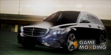 Mercedes-Benz C-Class Estate 2015 для GTA San Andreas