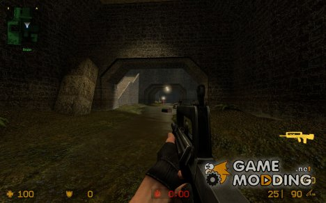 Silenced FAMAS G2 для Counter-Strike Source