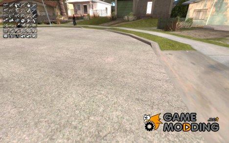 Выбор оружия (weapons) для GTA San Andreas