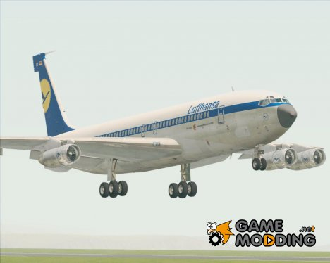 Boeing 707-300 Lufthansa for GTA San Andreas