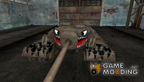 Шкурка для T95 animal for World of Tanks