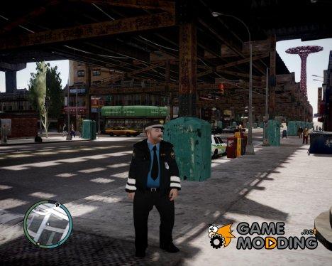 Российский милиционер для GTA 4