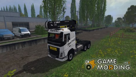Volvo Grumier для Farming Simulator 2015