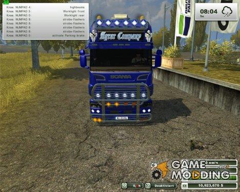 Scania R730 v1.0 для Farming Simulator 2013