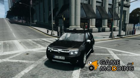 Dacia Duster SUV 4x4 2010 for GTA 4