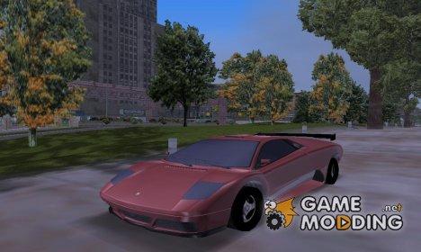 Infernus из GTA 5 for GTA 3