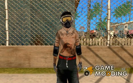 Гонщик из Fuel для GTA San Andreas