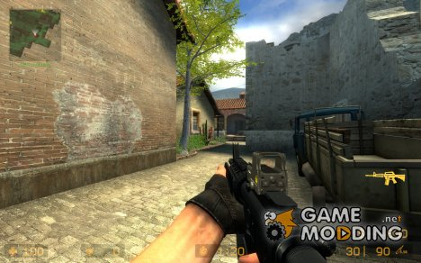 M4 Holosight+jens Anims V3 для Counter-Strike Source