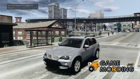 BMW X5 E70 Chrome для GTA 4