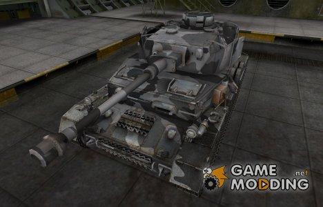 Шкурка для немецкого танка PzKpfw IV hydrostat. for World of Tanks