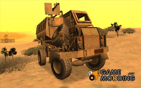 MRAP Buffel from CoD Black Ops 2 для GTA San Andreas