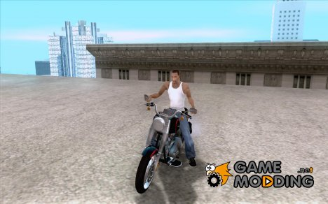 Harley Davidson FatBoy (Terminator 2) для GTA San Andreas