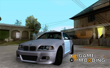 BMW M3 E46 TUNEABLE for GTA San Andreas