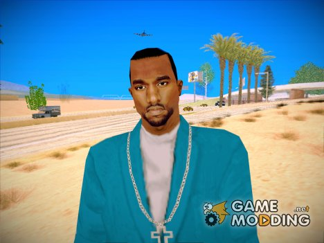 Kanye West for GTA San Andreas