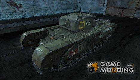 Шкурка для Черчилль для World of Tanks