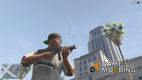 PAYDAY 2 MP5A4 1.9.1 for GTA 5