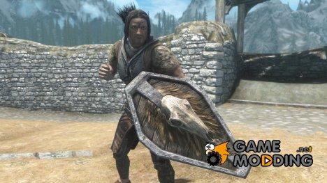 Savage Shield - craftable and upgradable for TES V Skyrim