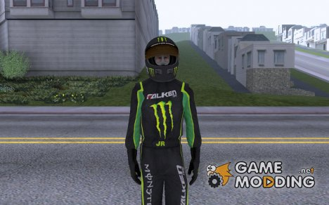 Monster Energy Skin for GTA San Andreas