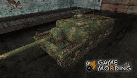 шкурка для T28 №9 для World of Tanks