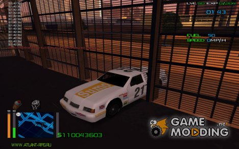 Езда сквозь стены for GTA San Andreas