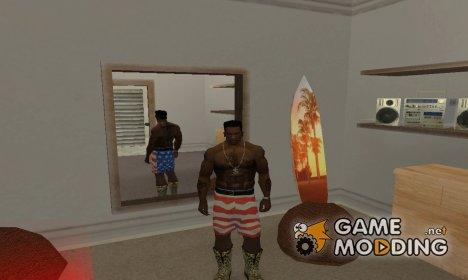 Шорты с флагом Америки для GTA San Andreas