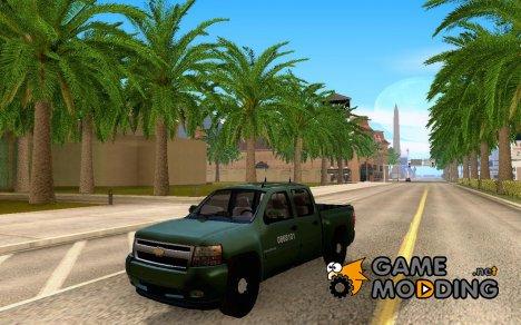 Chevrolet Silverado Police for GTA San Andreas
