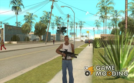 M4 MOD v4 for GTA San Andreas