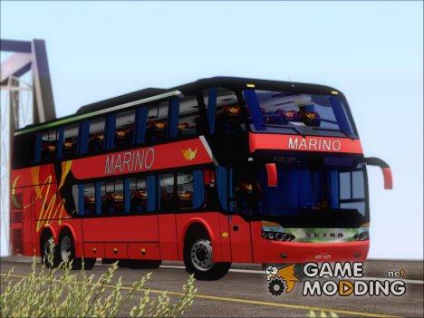 Marcopolo Paradiso 1800 G6 DD Marino Autolinee (Red) for GTA San Andreas