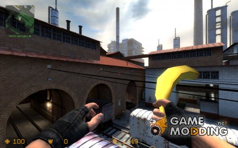 banana knife для Counter-Strike Source