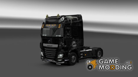Скин Bullet для DAF XF Euro 6 for Euro Truck Simulator 2