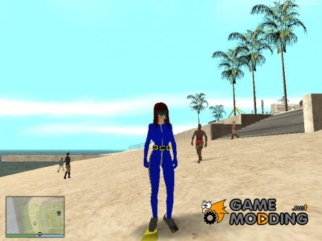 Monica Diver for GTA San Andreas