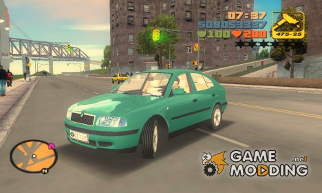 Skoda Octavia for GTA 3