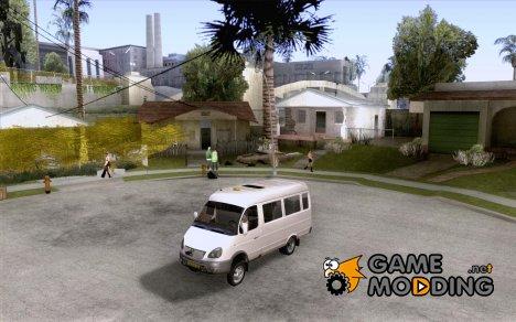 ГАЗель 32213 Новосибирская Маршрутка for GTA San Andreas