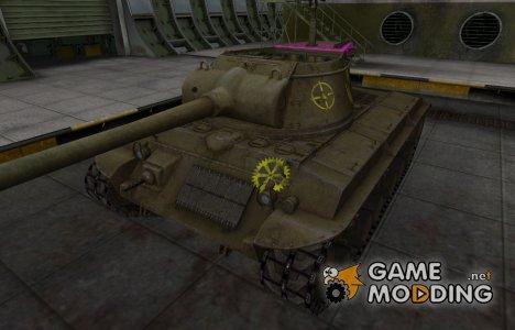 Качественные зоны пробития для T25/2 для World of Tanks