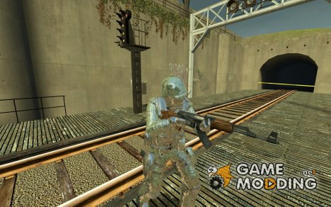 green camo urban for Counter-Strike Source