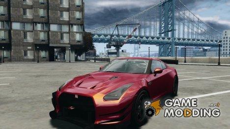 Nissan GT-R Tuning v1.2 для GTA 4