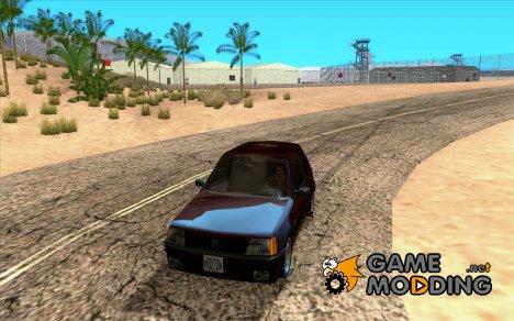 Peugeot 205 GTI v2 for GTA San Andreas