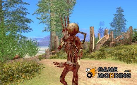 Fast zombie из Half Life 2 for GTA San Andreas