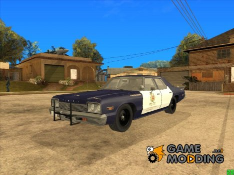 Dodge Monaco LSPD 1974 for GTA San Andreas