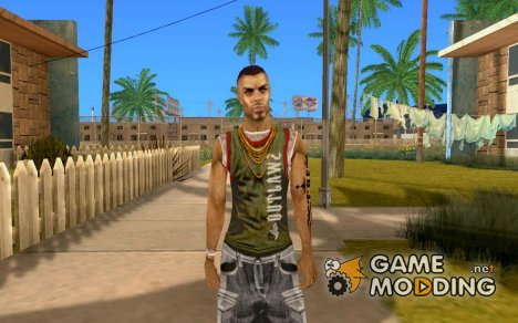 Персоонаж  из игры Crime Life - Gang Wars для GTA San Andreas