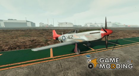P-51D Mustang v1.0 для GTA 5