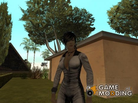 Lara Croft: Tracksuit for GTA San Andreas
